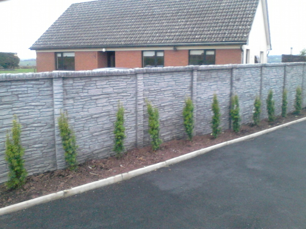 Double & Single Sided - Concrete Fencing Cork